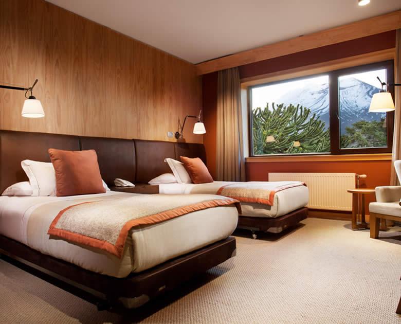 Habitacion del Hotel Corralco single