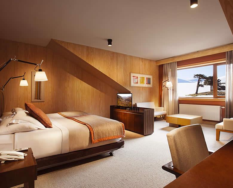 Habitacion del Hotel Corralco suites