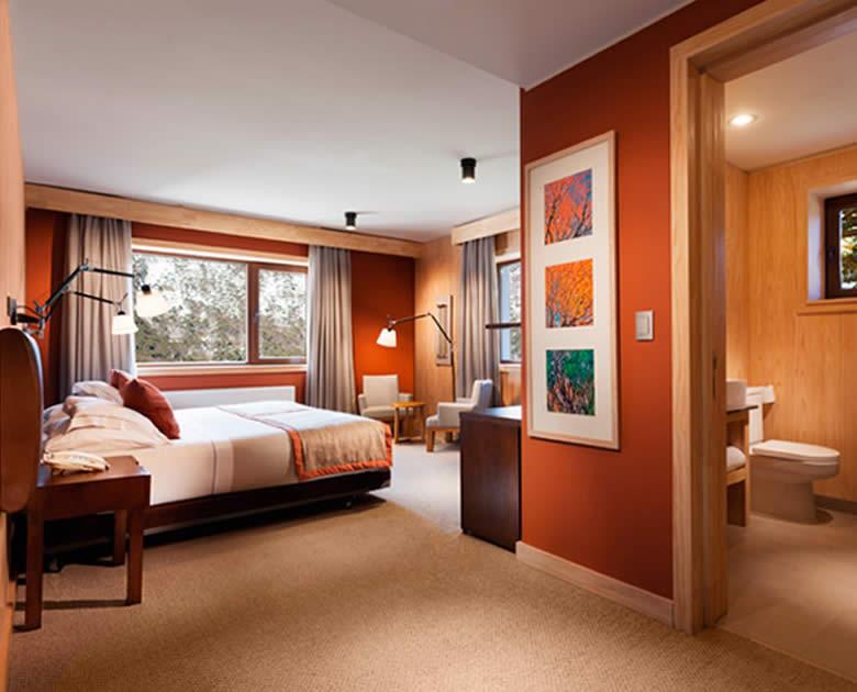 Habitacion del Hotel Corralco superior